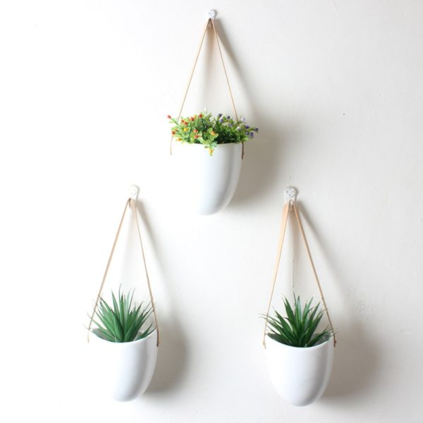 decorative indoor flower pots