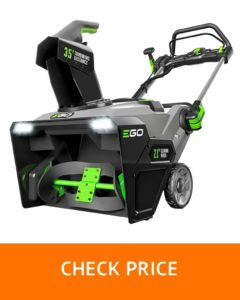 best battery operated snow blower