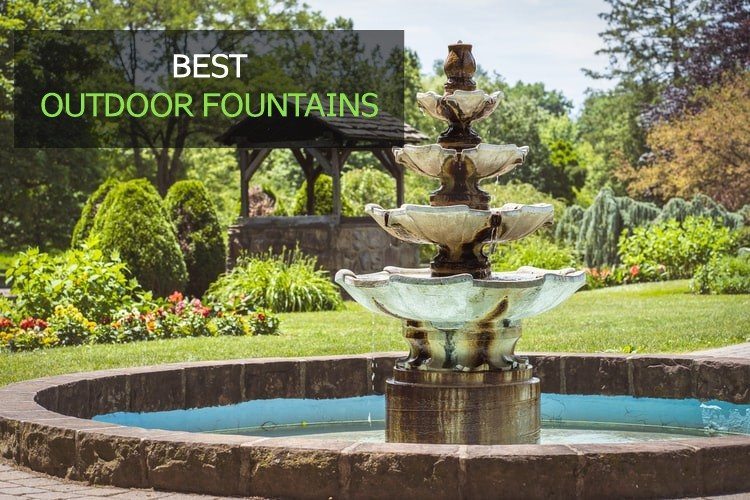 best outdoor fountains