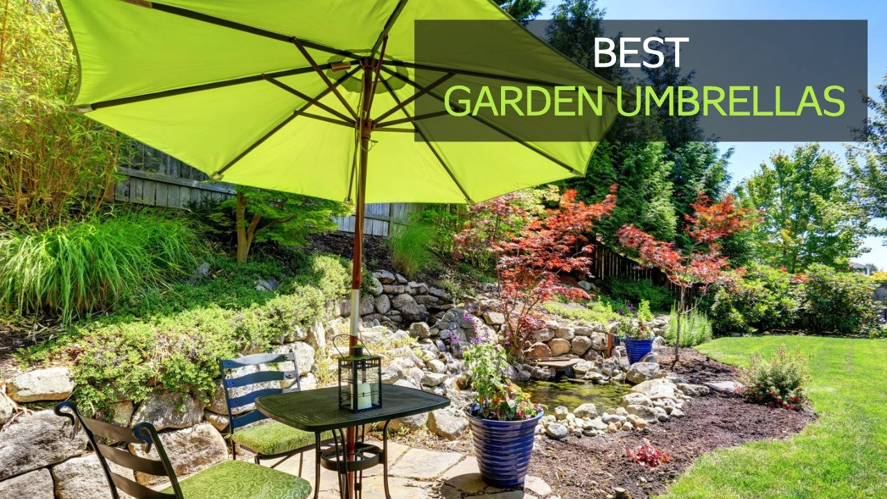 best garden umbrellas